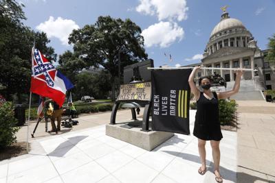 Mississippi lawmakers vote to remove rebel emblem from flag