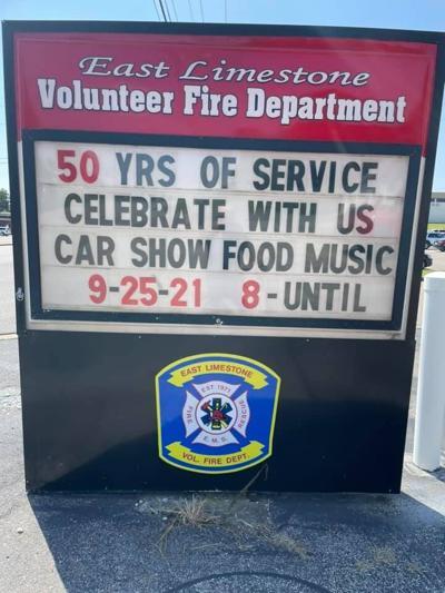 East Limestone Fire & Rescue celebrating 50 years