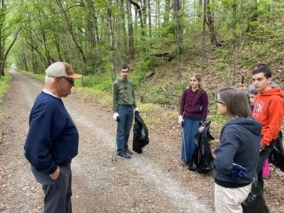 Rails-to-Trail cleanup