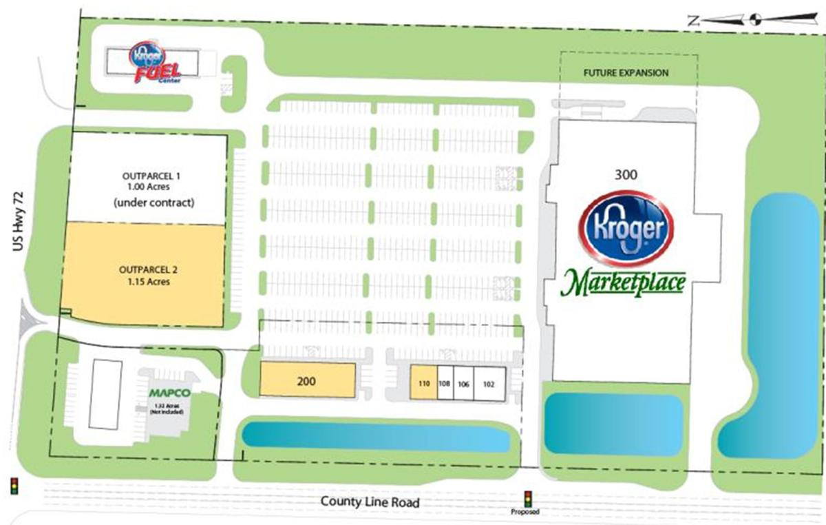 COUNTY LINE ROAD: Work underway on Kroger shopping center | Local ...
