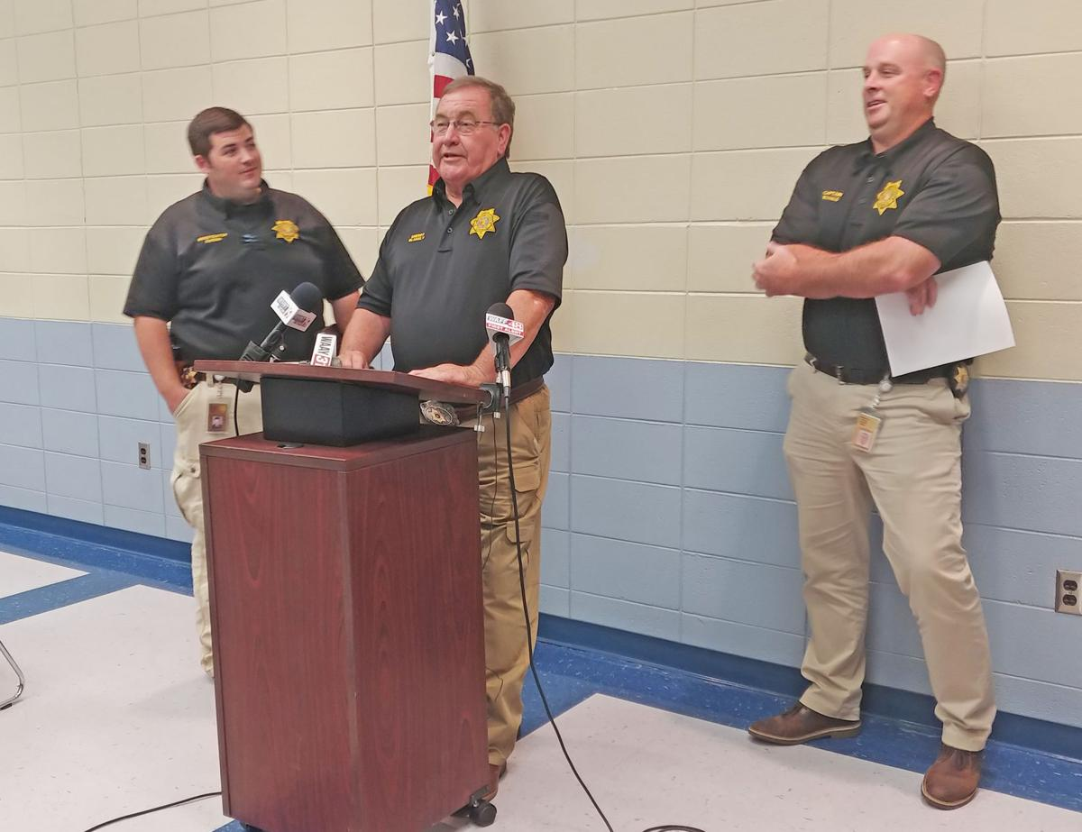Ardmore murder press conference