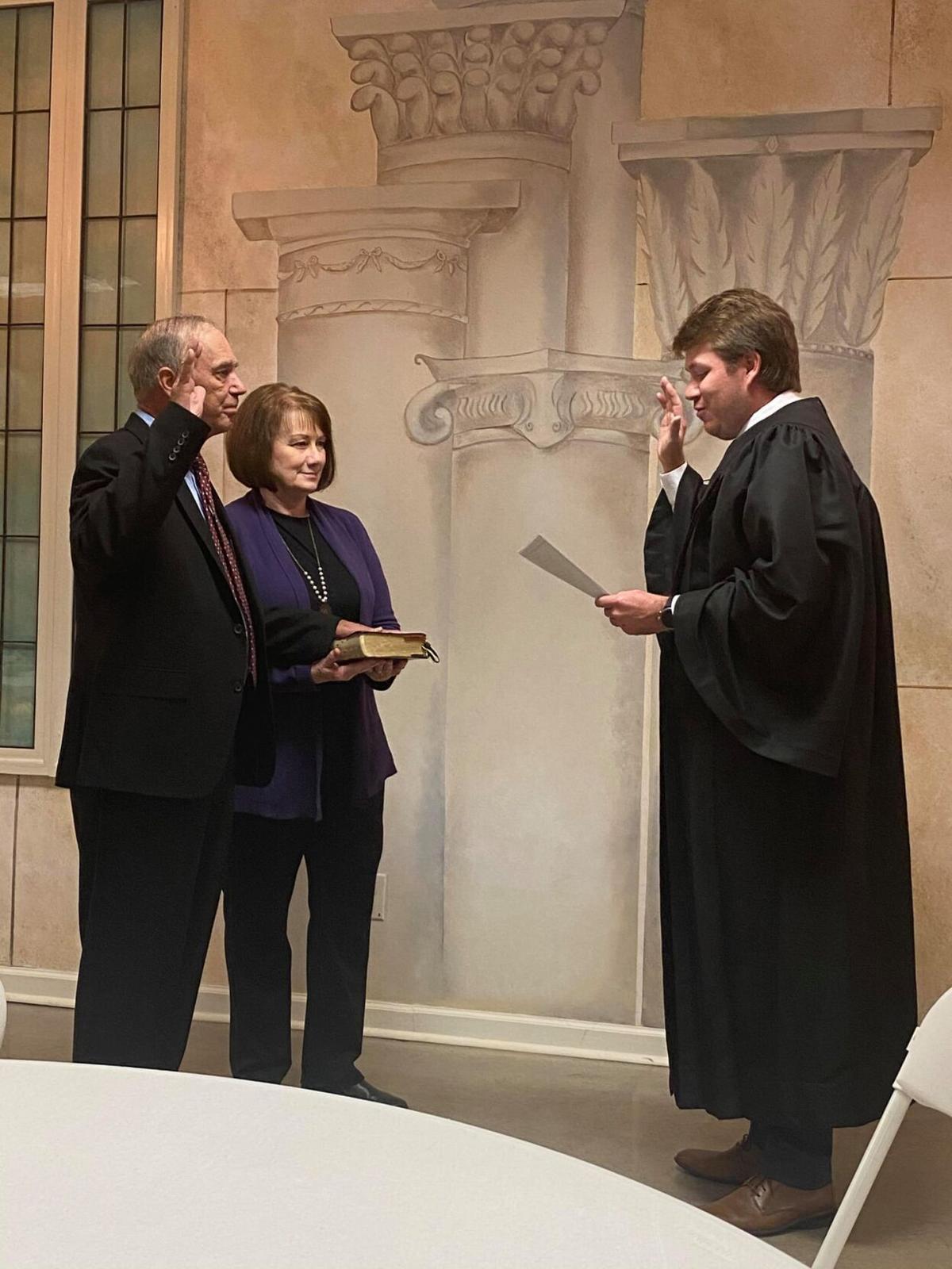 Barksdale sworn in