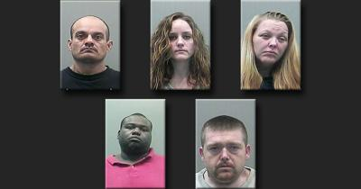 5 arrested in 6-month theft ring | Local News | enewscourier com