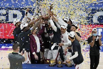 SEC LSU Alabama Basketball