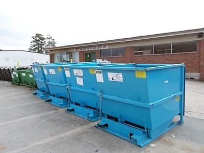 Four new bins added to recycling center