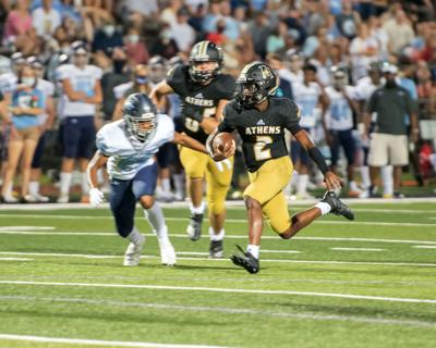 Mistakes cost Athens in 22-0 loss to James Clemens