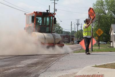 May 11, 2016 road work