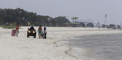 Toxic bacteria mean fewer people on Mississippi's beaches