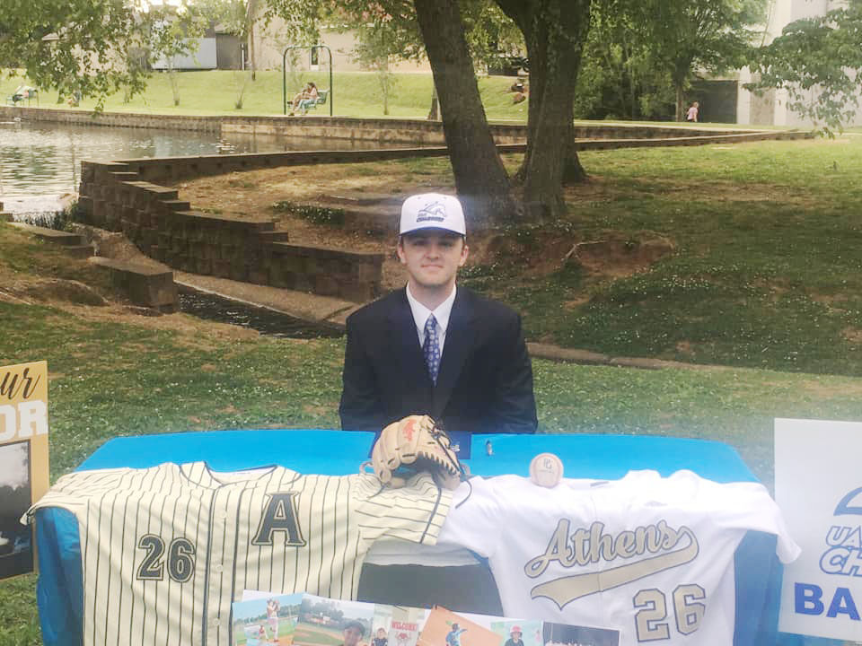 Athens baseball duo sign to play in college