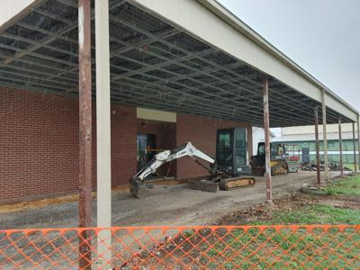 Tanner Elementary construction