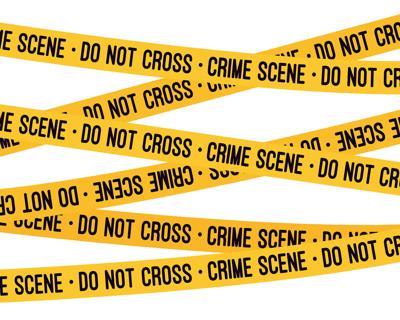 Crime scene tape icon