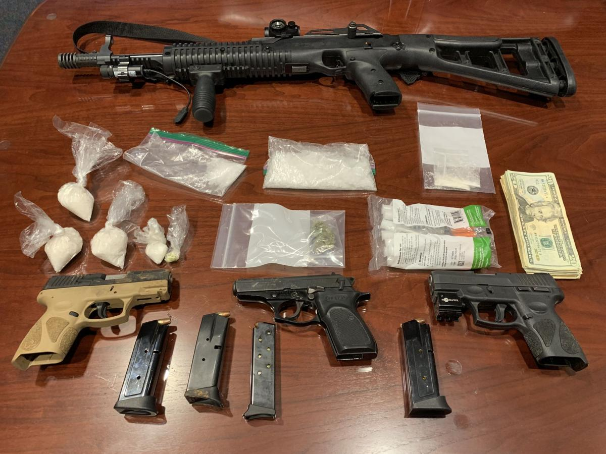 6 arrested in meth, firearms bust   Local News