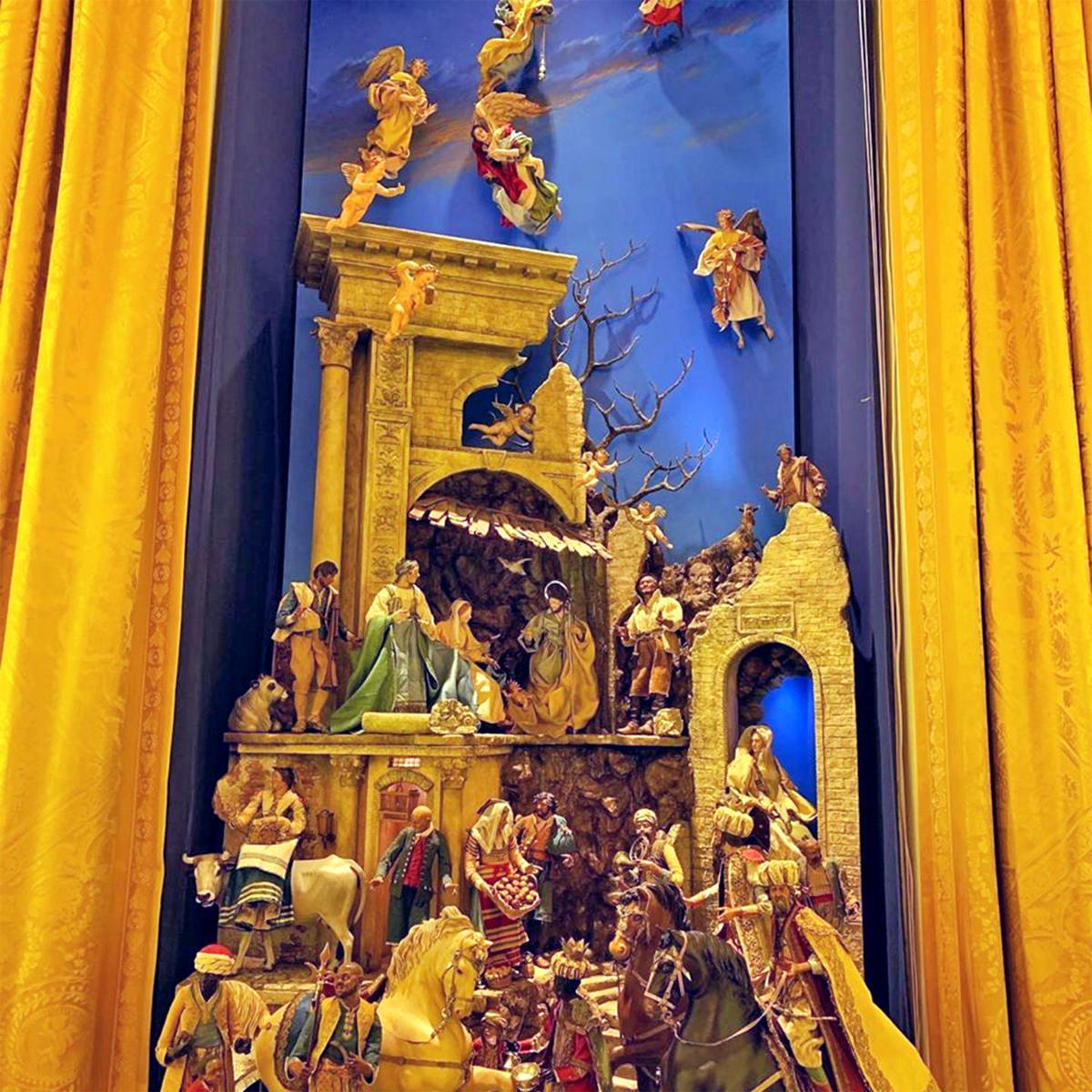 White House nativity