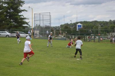 Good weather greets baseball campers