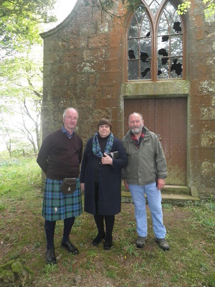 Scottish visitors