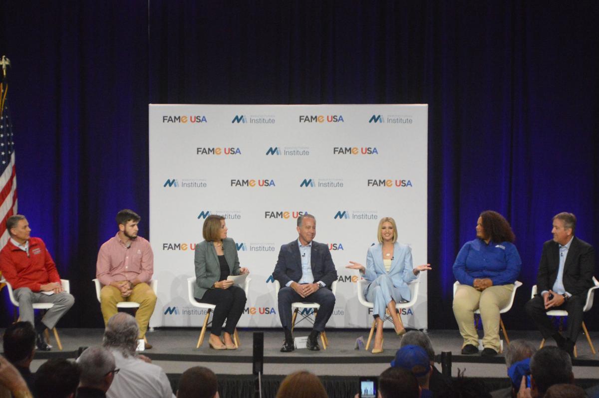 Ivanka Trump on FAME panel