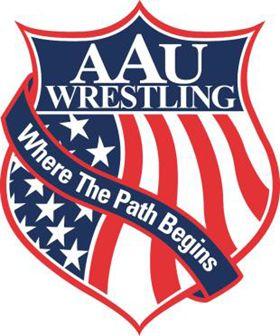 AAU Wrestling logo