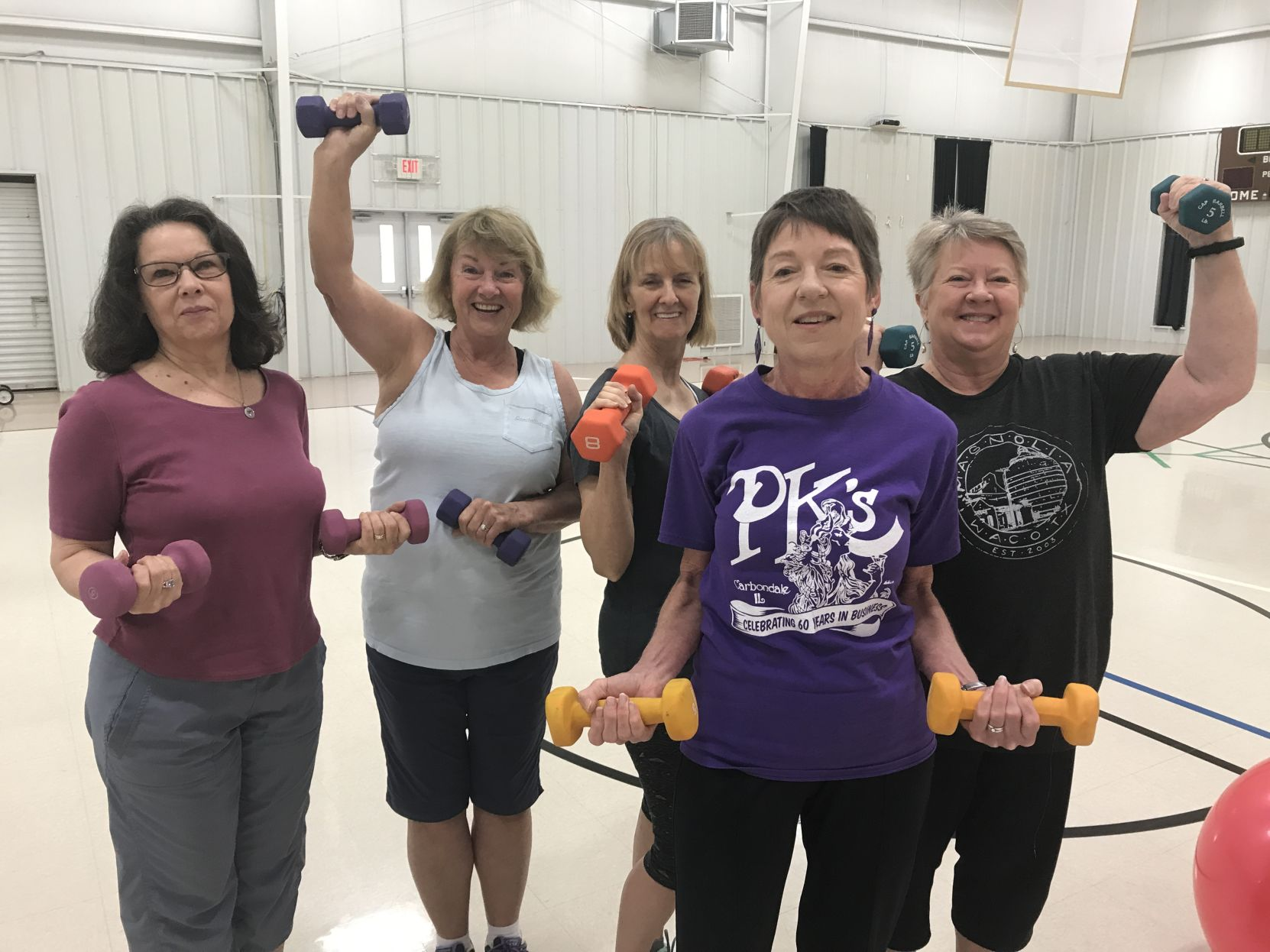 YOUNG AT HEART IN LIMESTONE: Fitness classes help seniors stay in ...