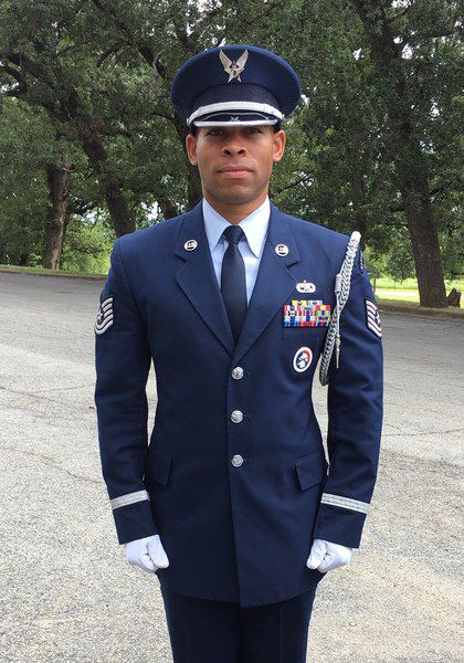 Air Force journey takes Enid native from gridiron to Iraq
