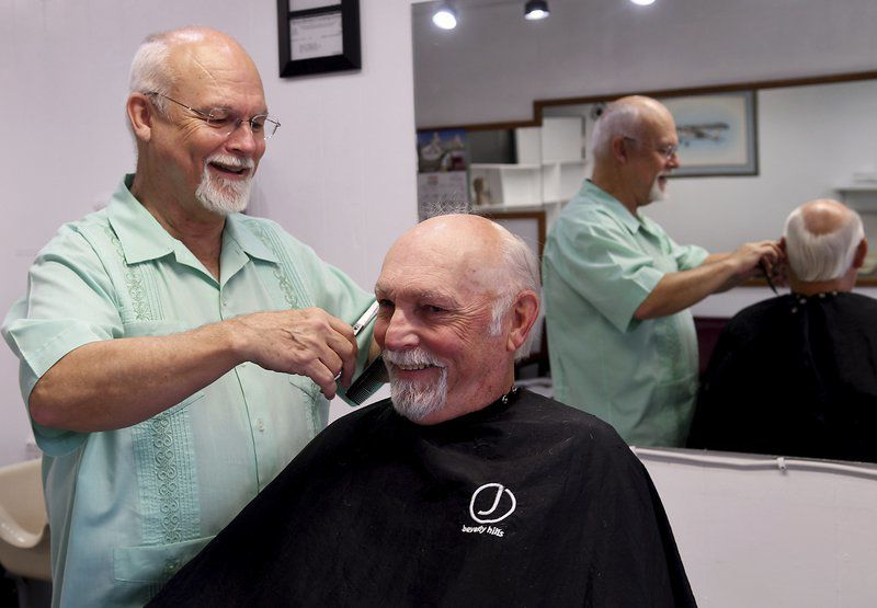 A barber's story Dave's Barber Shop owner retiring after half a century in Enid