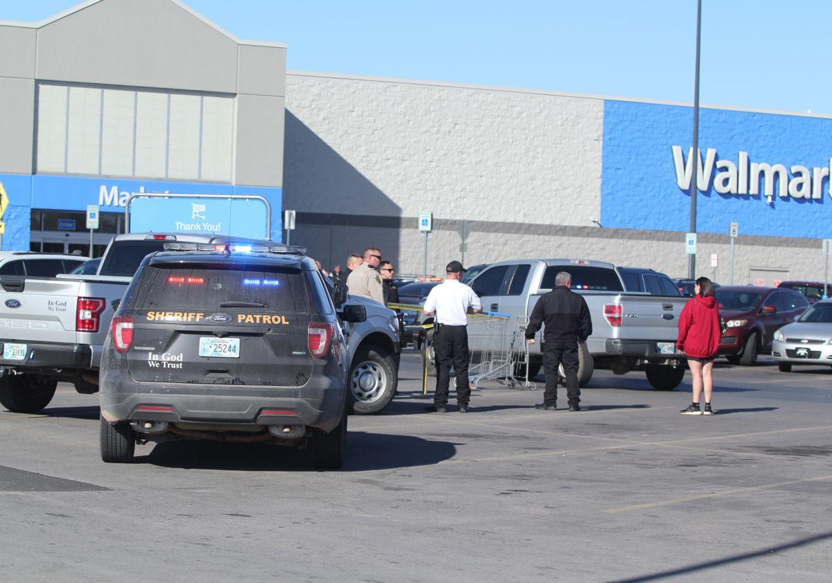 Wal-Mart scene