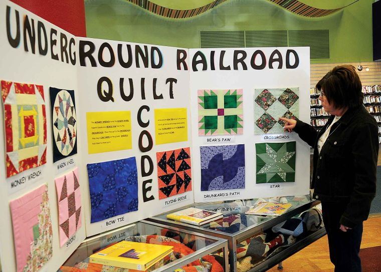 Quilt blocks tell story of freedom | Local News | enidnews.com : the freedom quilt - Adamdwight.com