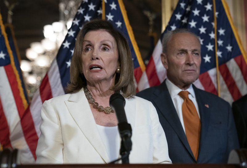 Democrats press Trump to intervene with GOP on gun bill