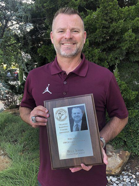 Garber's Jones sees coaching honor as team award