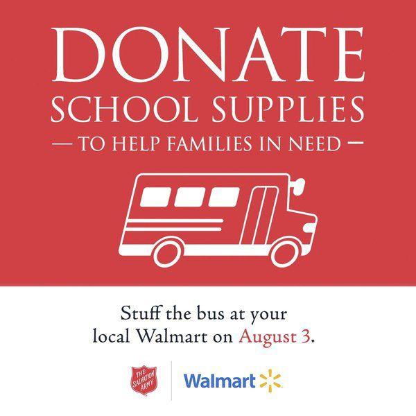 'Stuff the Bus' school supply drive Saturday