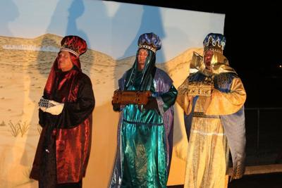 Living Nativity takes visitors to first Christmas