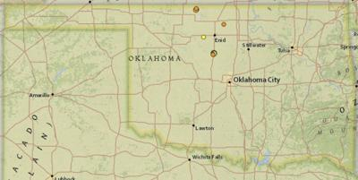 Kingfisher County Oklahoma Map.Occ Takes Action Following Kingfisher County Quakes News