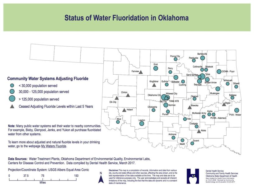 Fluoride In Oklahoma Water Systems News Enidnews Com