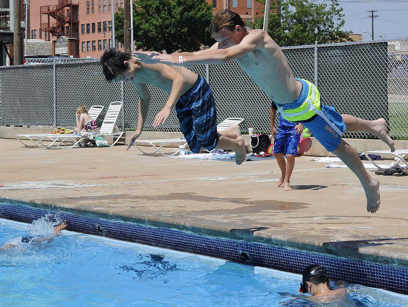 Champlin pool sees 2,500 more visitors than last season