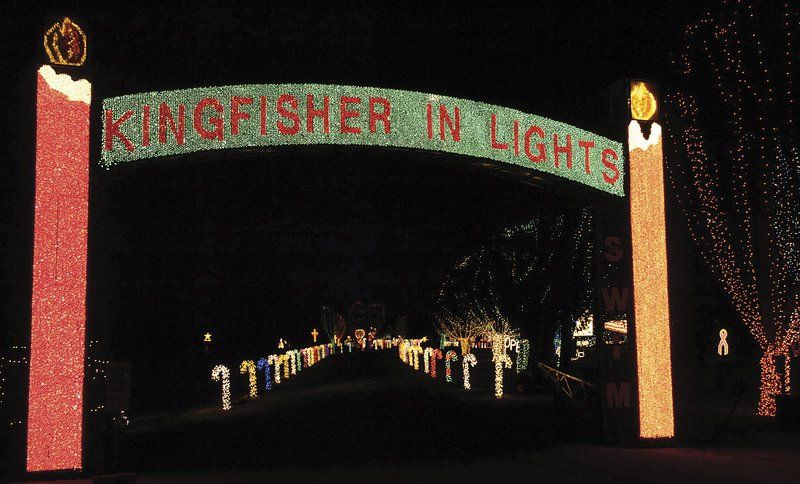 It S Lights Out For Kingfisher Christmas Event Local
