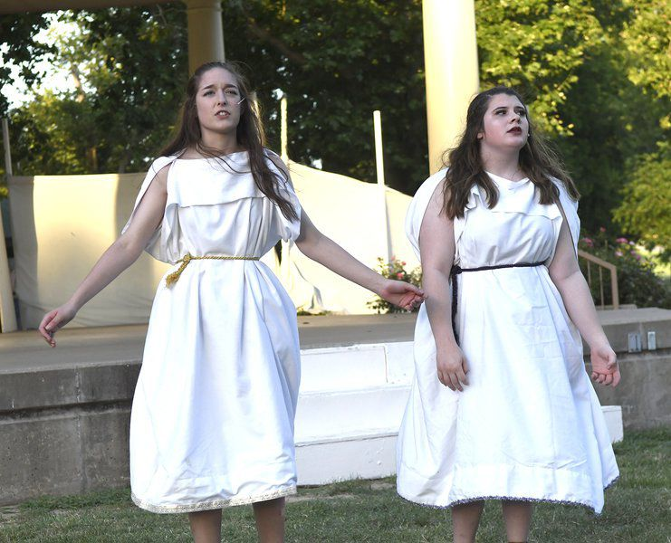 Gaslight presents Shakespeare this weekend at Gov't Springs