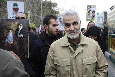 Iran's Gen. Soleimani killed in airstrike at Baghdad airport