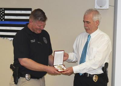Parks promoted to sergeant