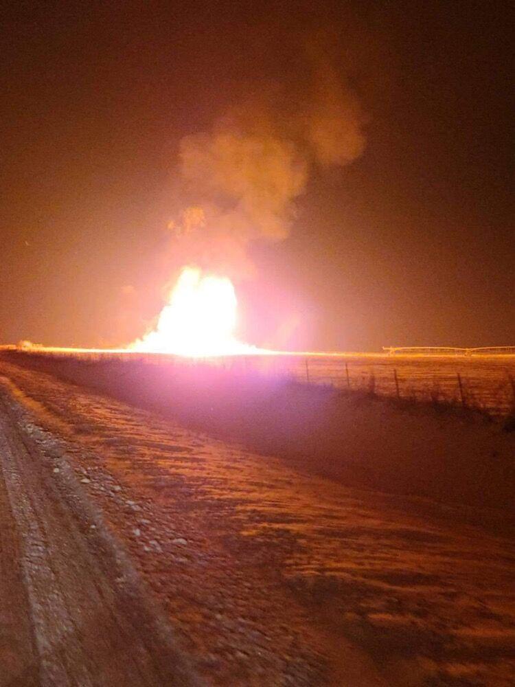 Gasline explosion