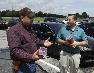 Sheriff's office receives donation of Sharps containers