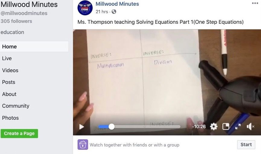 """""""Millwood Minutes"""""""