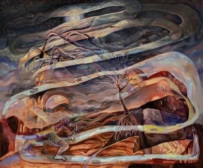 kyle larson painting