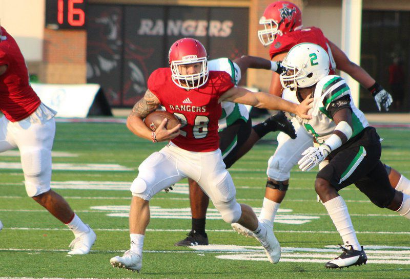 NWOSU's Peyton closing in on program's all-time rushing record