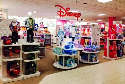 3f1fb1b9a38ac Disney Shop being unveiled at JCPenney