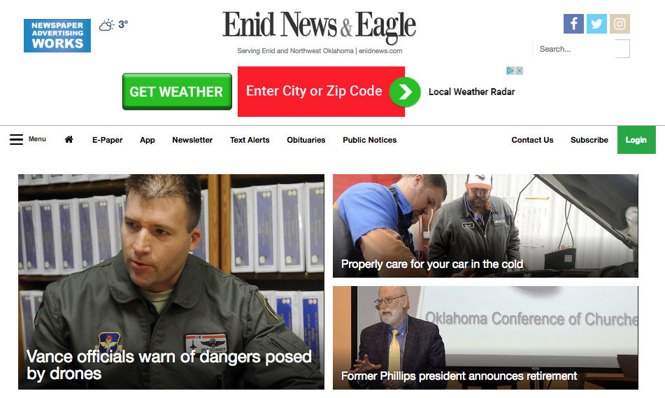 News & Eagle launches newly designed website, mobile app