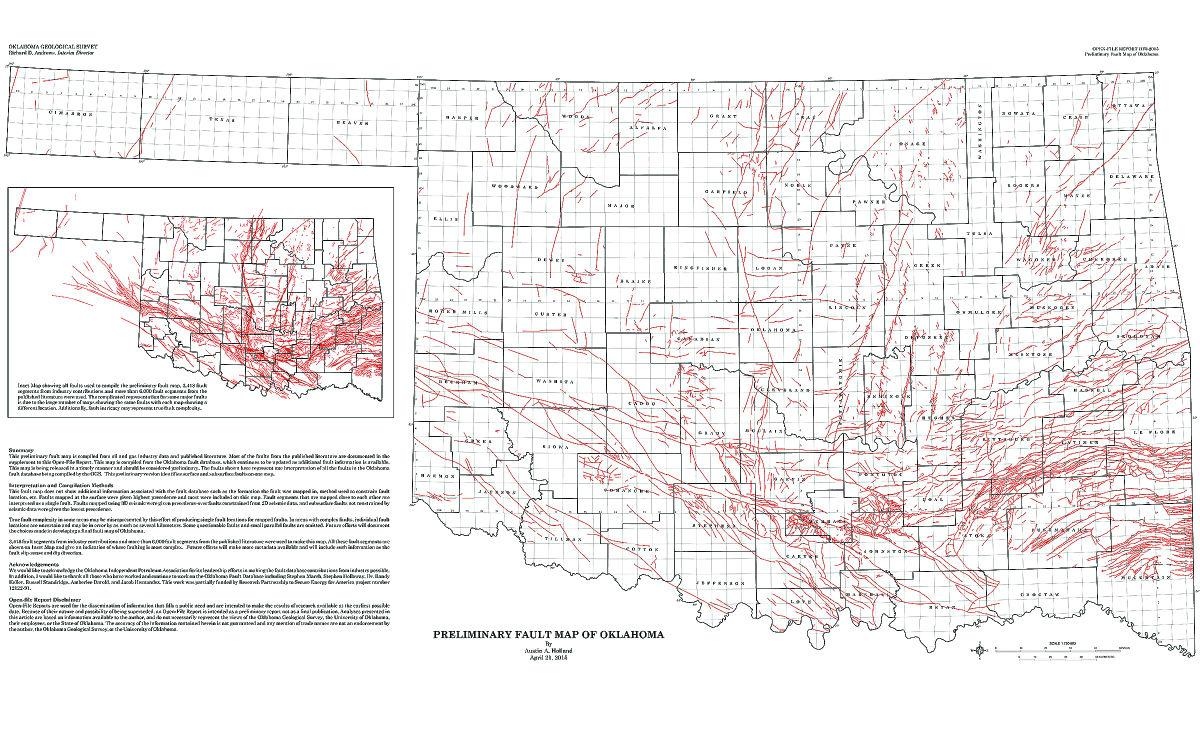 Whos At Fault Scientists Search For Answers As Earthquakes In - Map of us after new madrid earthquake