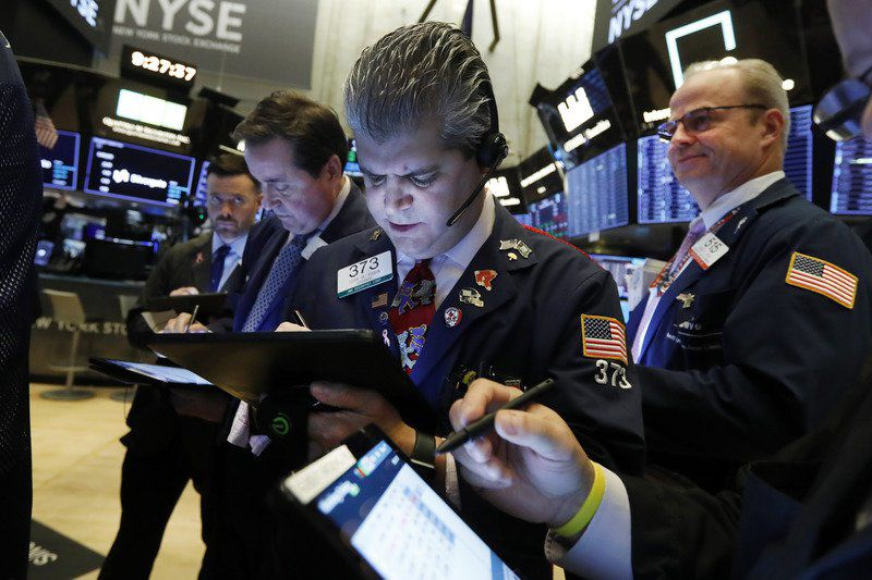 Stocks stumble to more records on conflicting trade reports