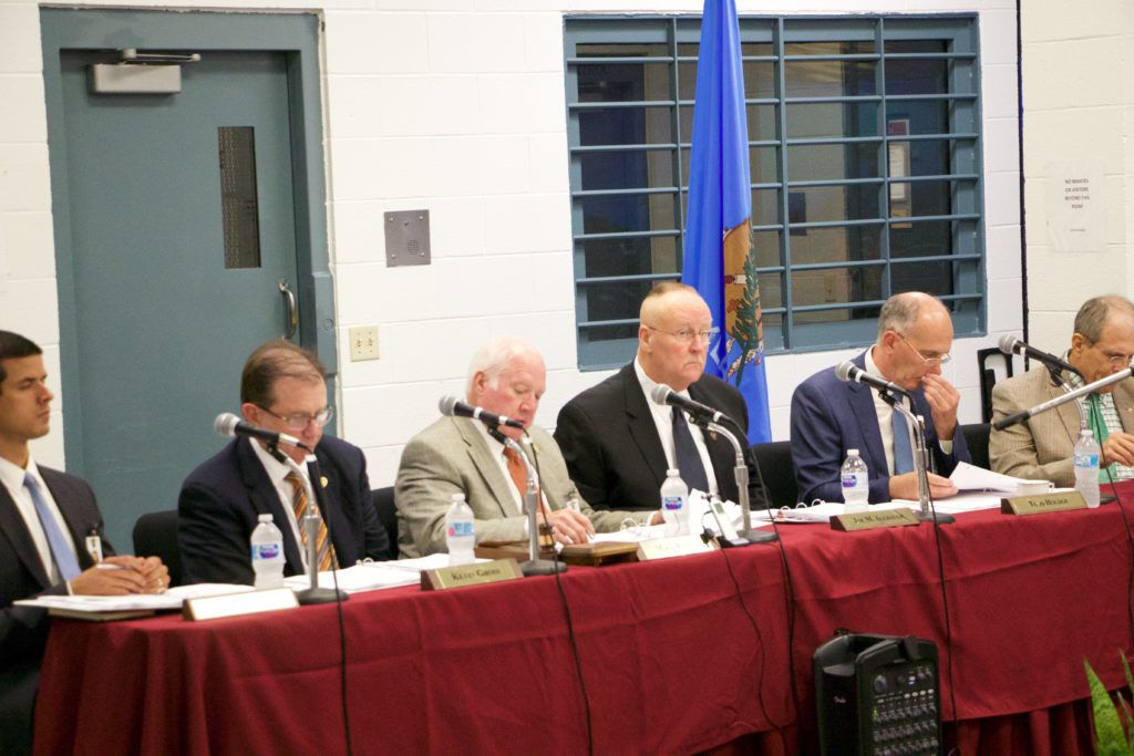 Board of Corrections meeting