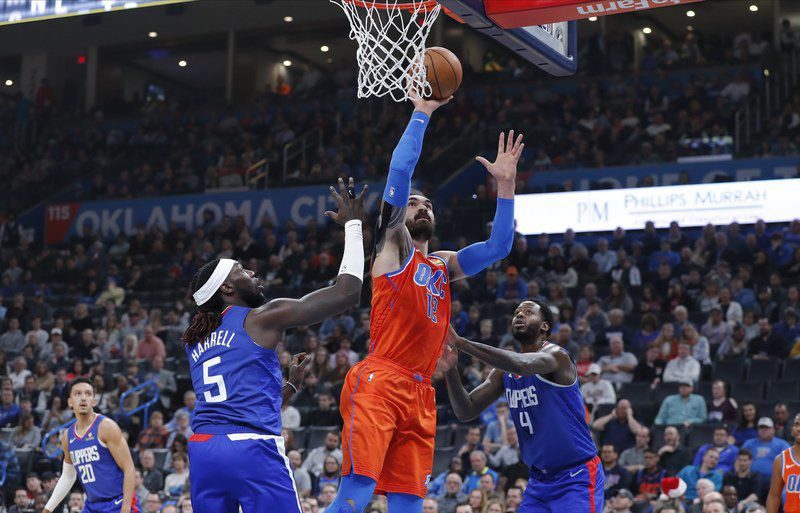 Image result for montrezl harrell steven adams