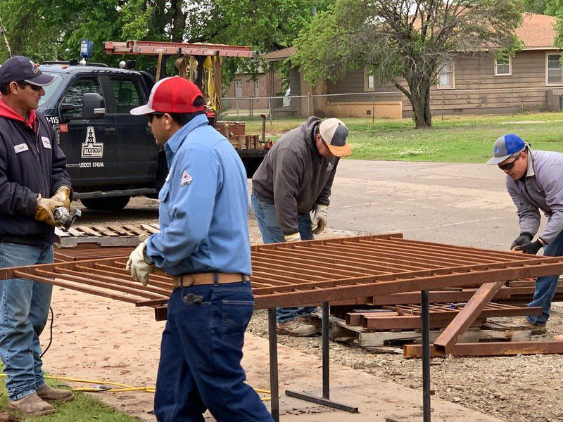Marsau Enterprises keeps employees busy during slowdown with community service