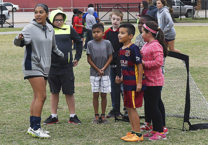 Pacers help kids step into soccer | Local News | enidnews com